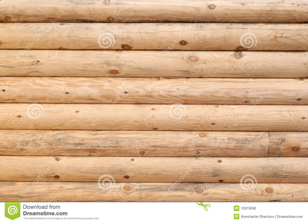 Brown Wood Log Wall Texture Background Stock Photo, Picture And ...