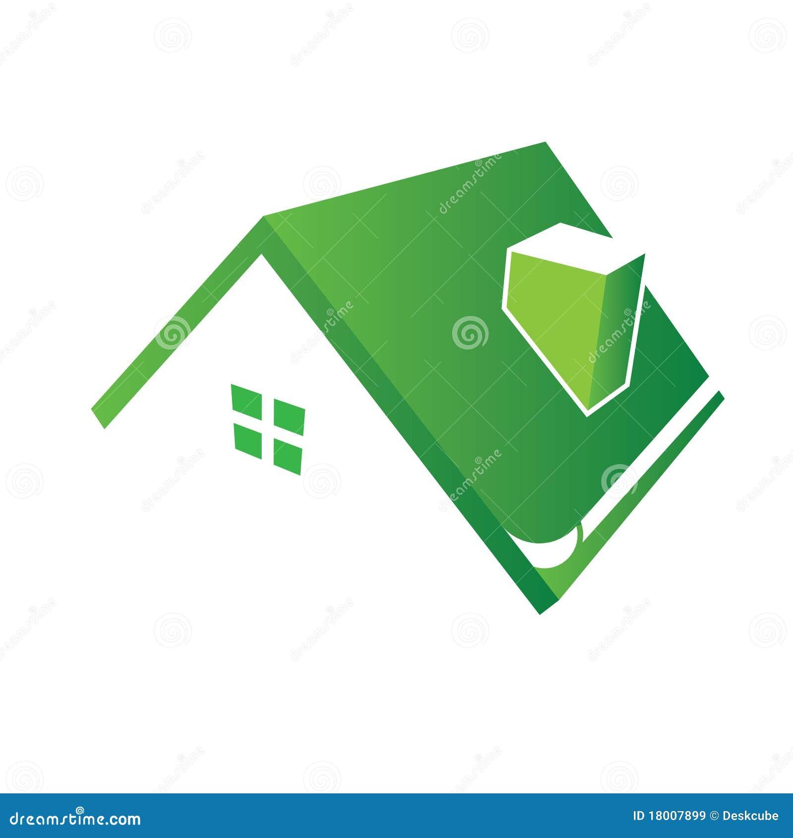Loga domowy dach