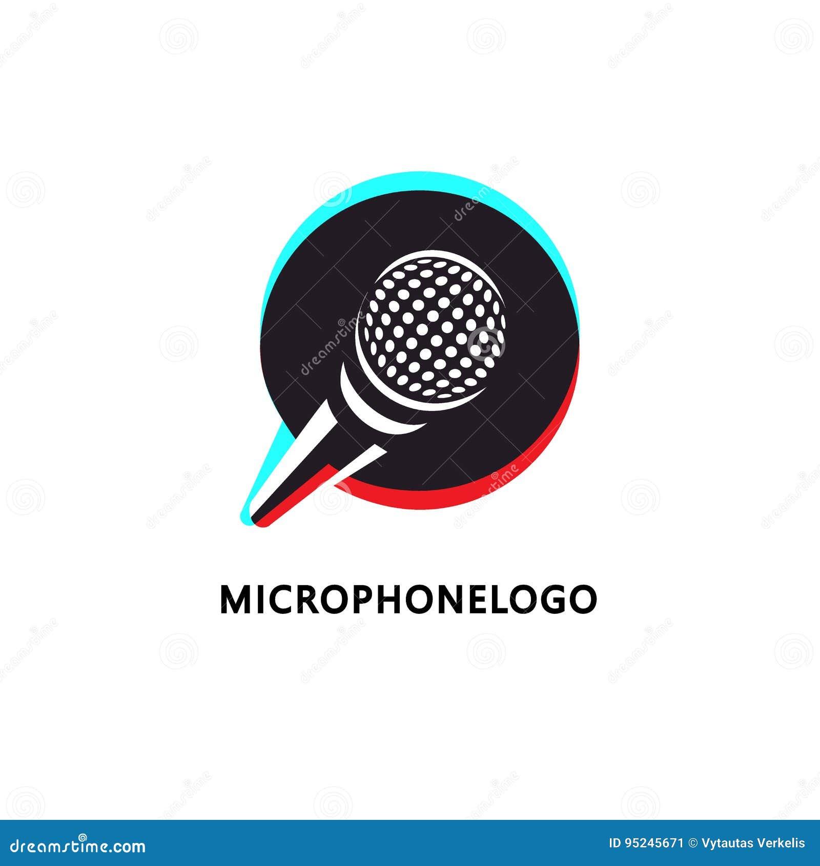 Loga projekt dla muzyki lub transmitowania odnosić sie biznes