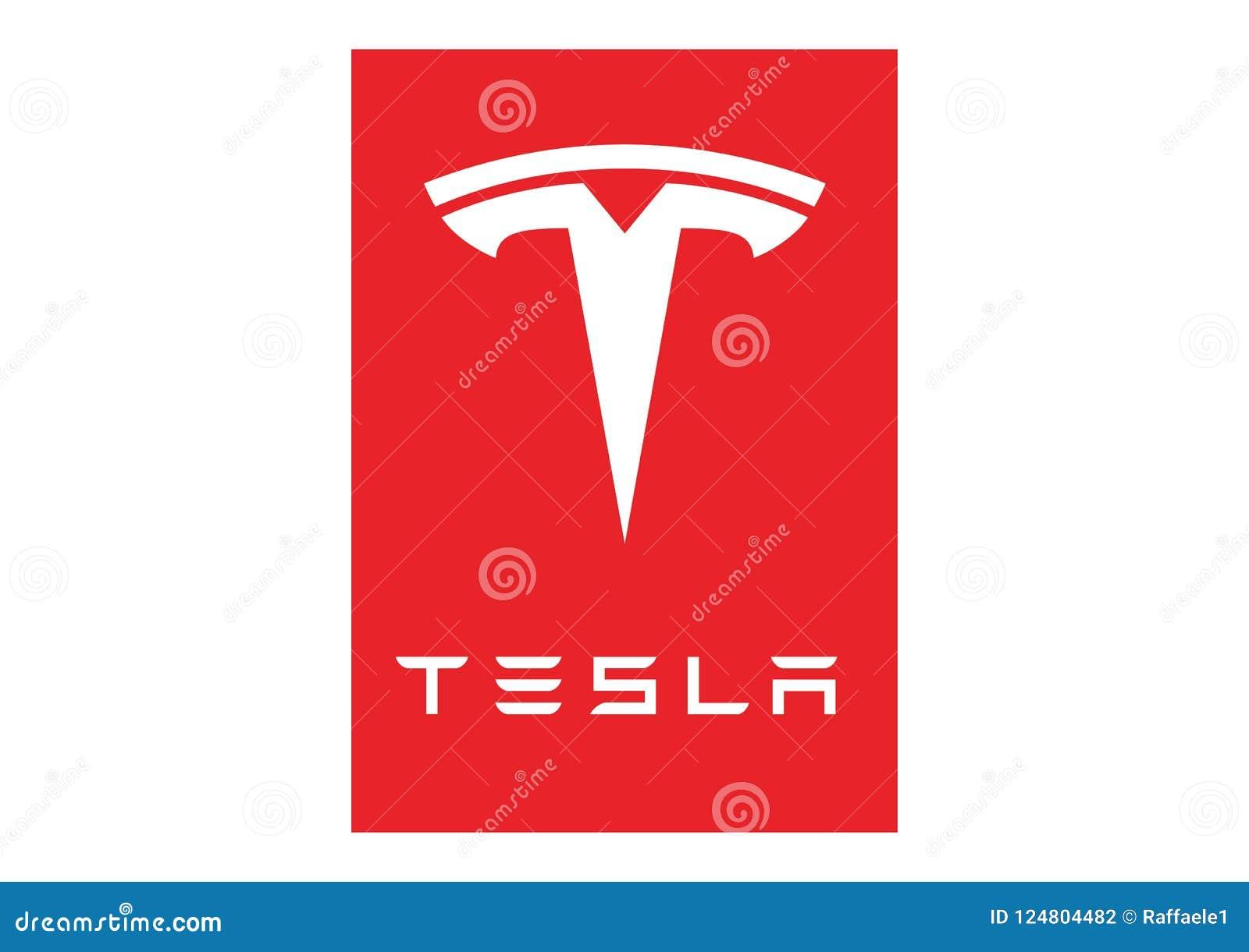 Loga Tesla silnik