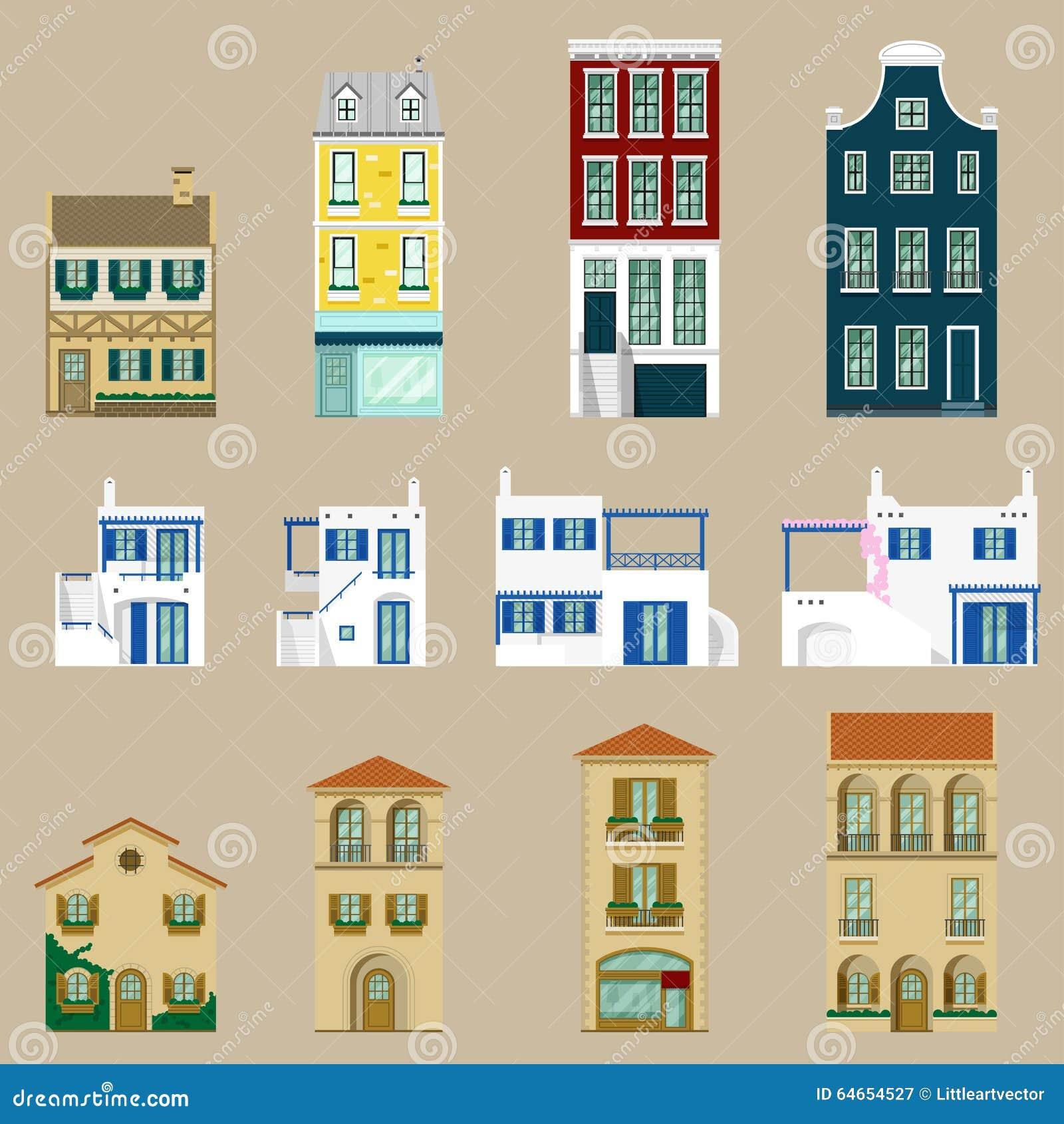Loge la collection maison d 39 europe illustration de for Arielle d collection maison