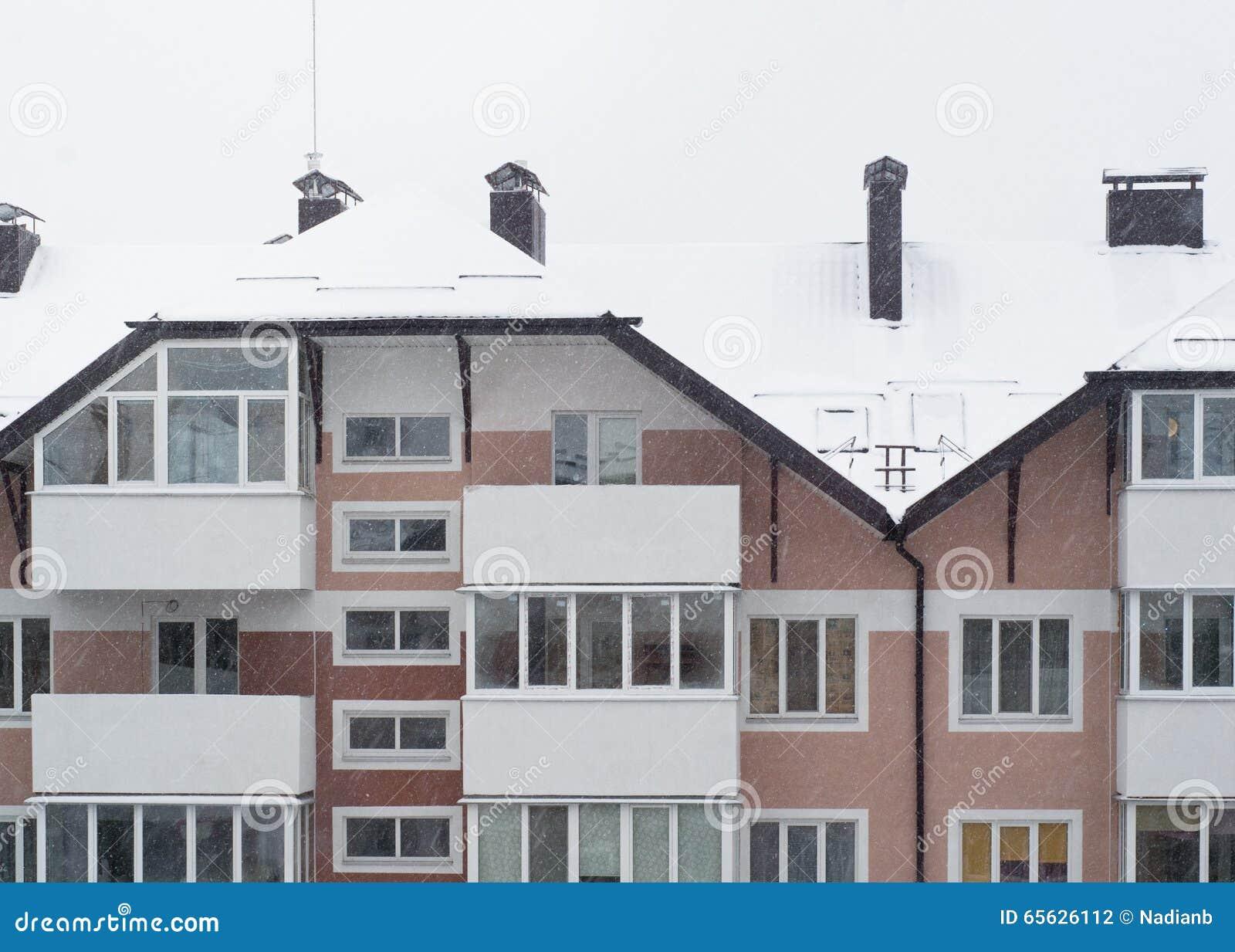 Logement de Milou en hiver