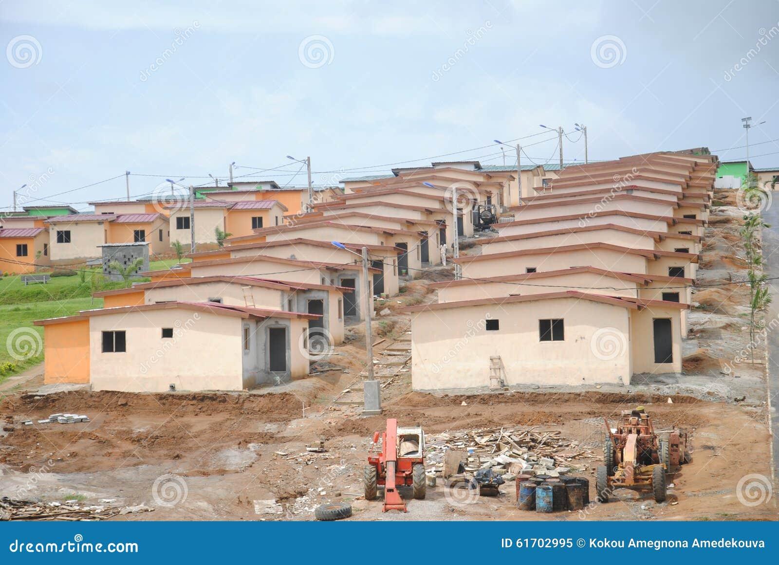 Logement social en afrique image stock image du facilitez for Africa express maison des jeunes