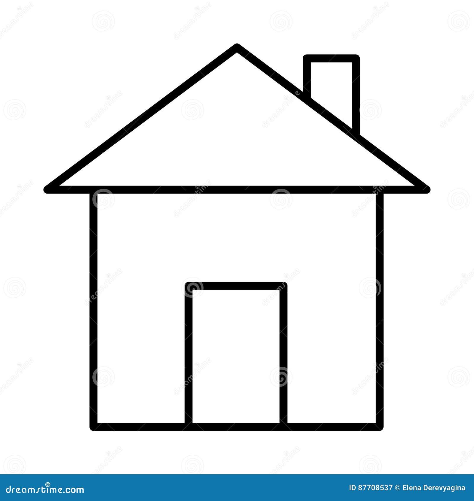 Logez la découpe noire d icône sur le fond blanc de l illustr