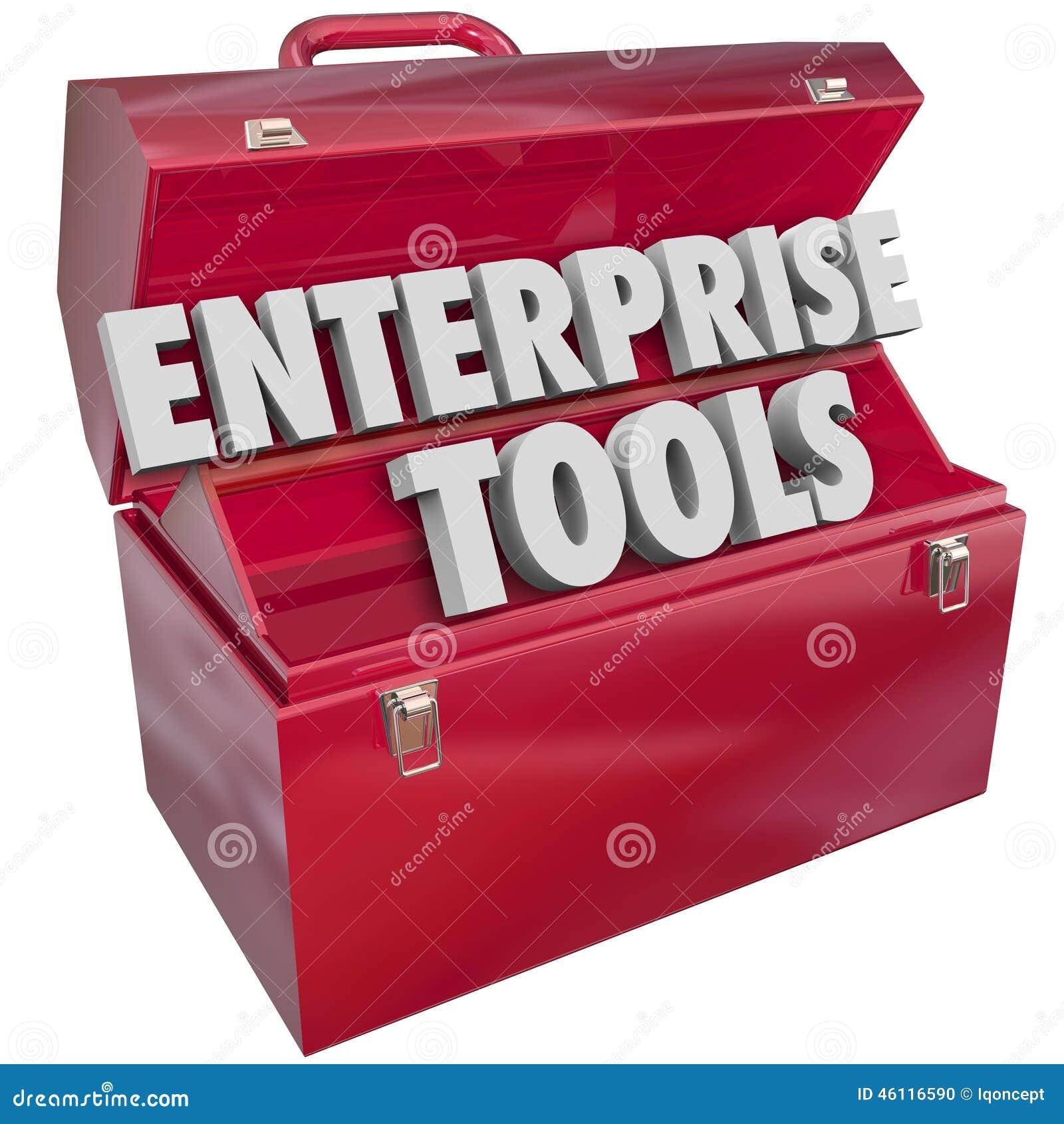 logiciel de gestion d'entreprise app d'enterprise tools red metal