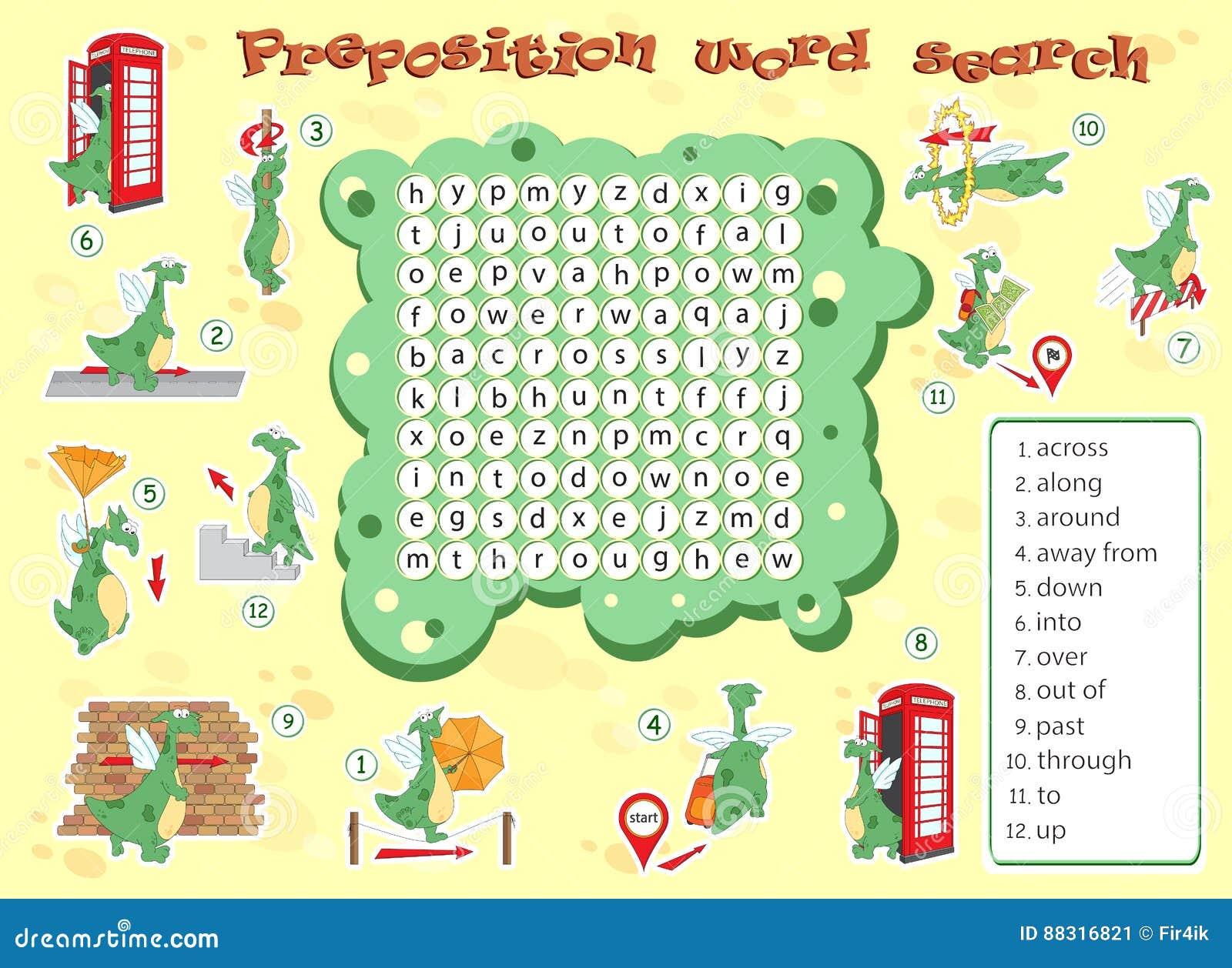Logikspiel Für Das Lernen Von Englisch Finden Sie Die Versteckten ...
