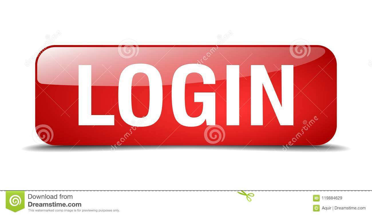 Login button stock vector  Illustration of icon, shiny