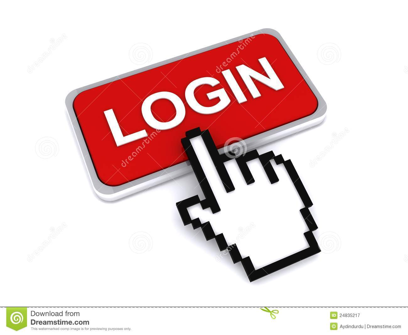 Login and cursor