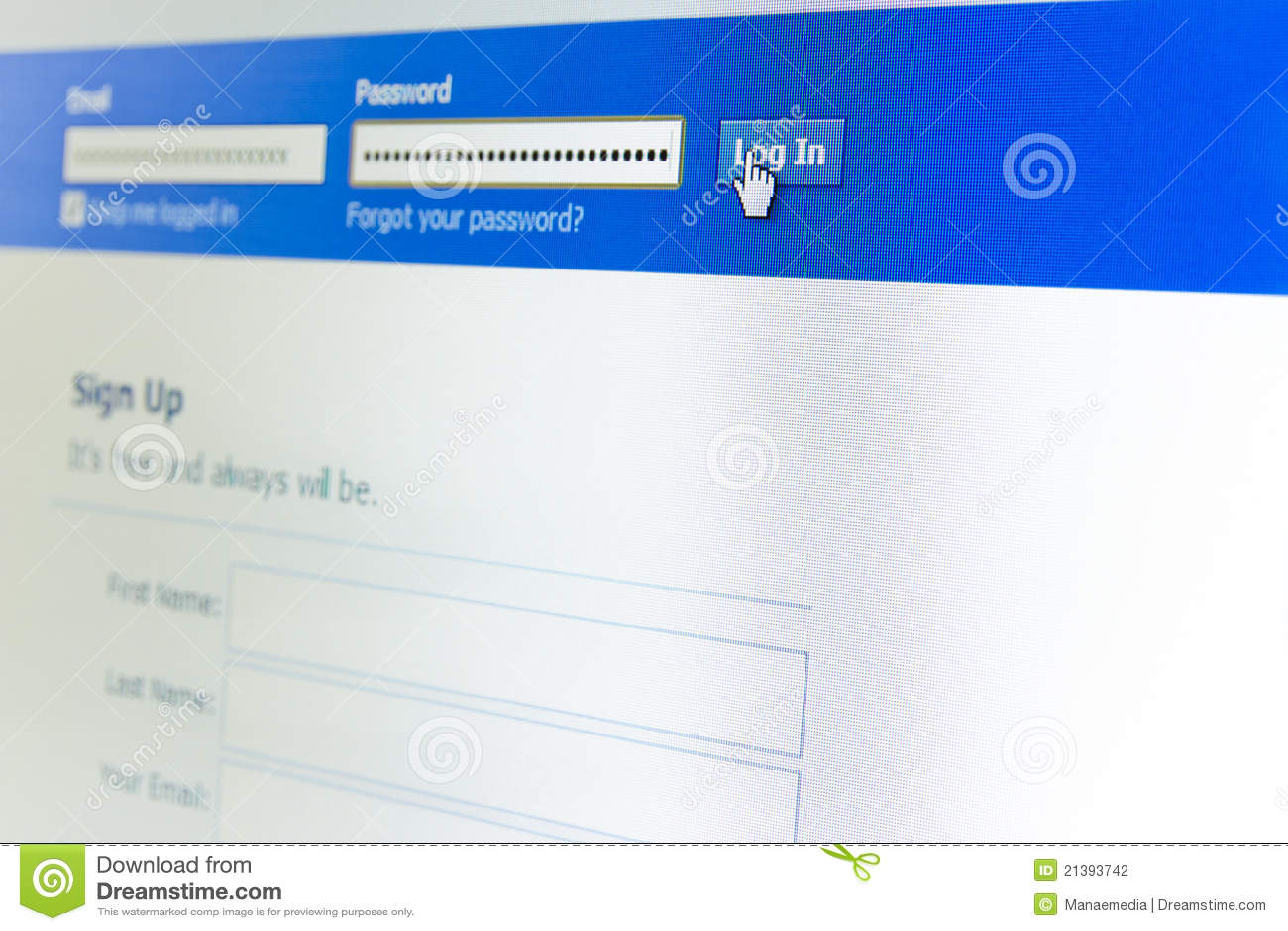 Www facebook login desktop