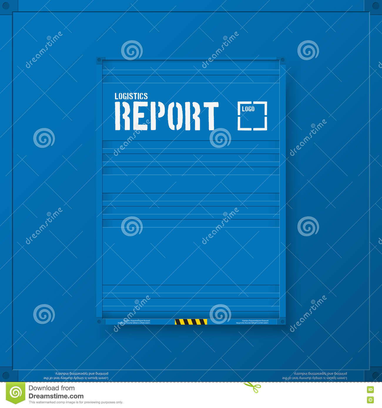logistic transport business templates for flyers brochure logistic transport business corporate identity templates for flyers brochure annual report cover vector royalty
