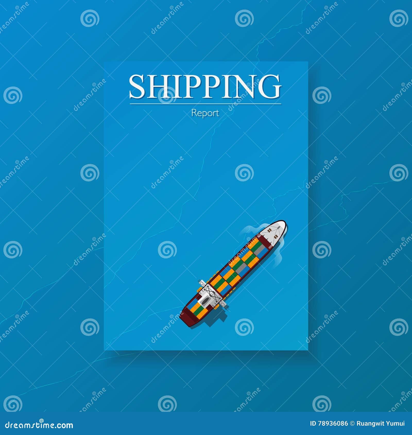 logistic transport business templates for flyers brochure logistic transport business templates for flyers brochure shipping industry annual report folder vector royalty