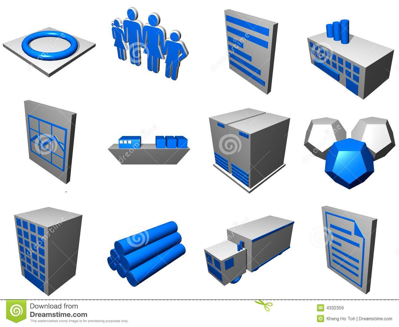 Logistics process icons for supply chain diagram stock illustration logistics process icons for supply chain diagram ccuart Choice Image