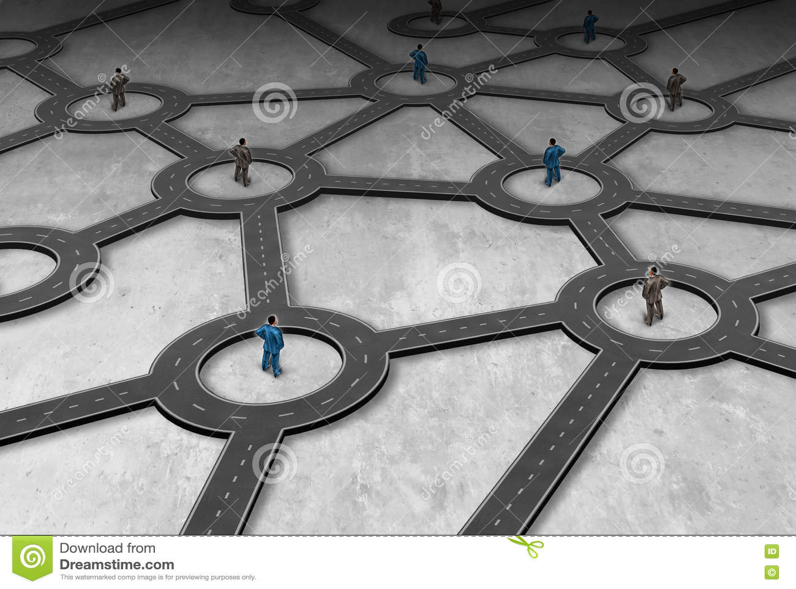 Logistyki zarządzanie siecią