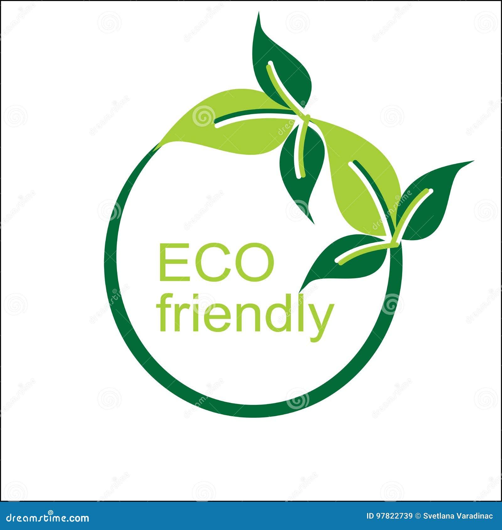 Logo écologique et symbole de vecteur