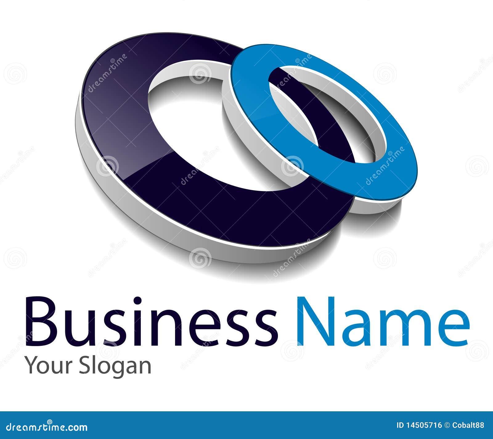 logo 3d royalty free stock image image 14505716