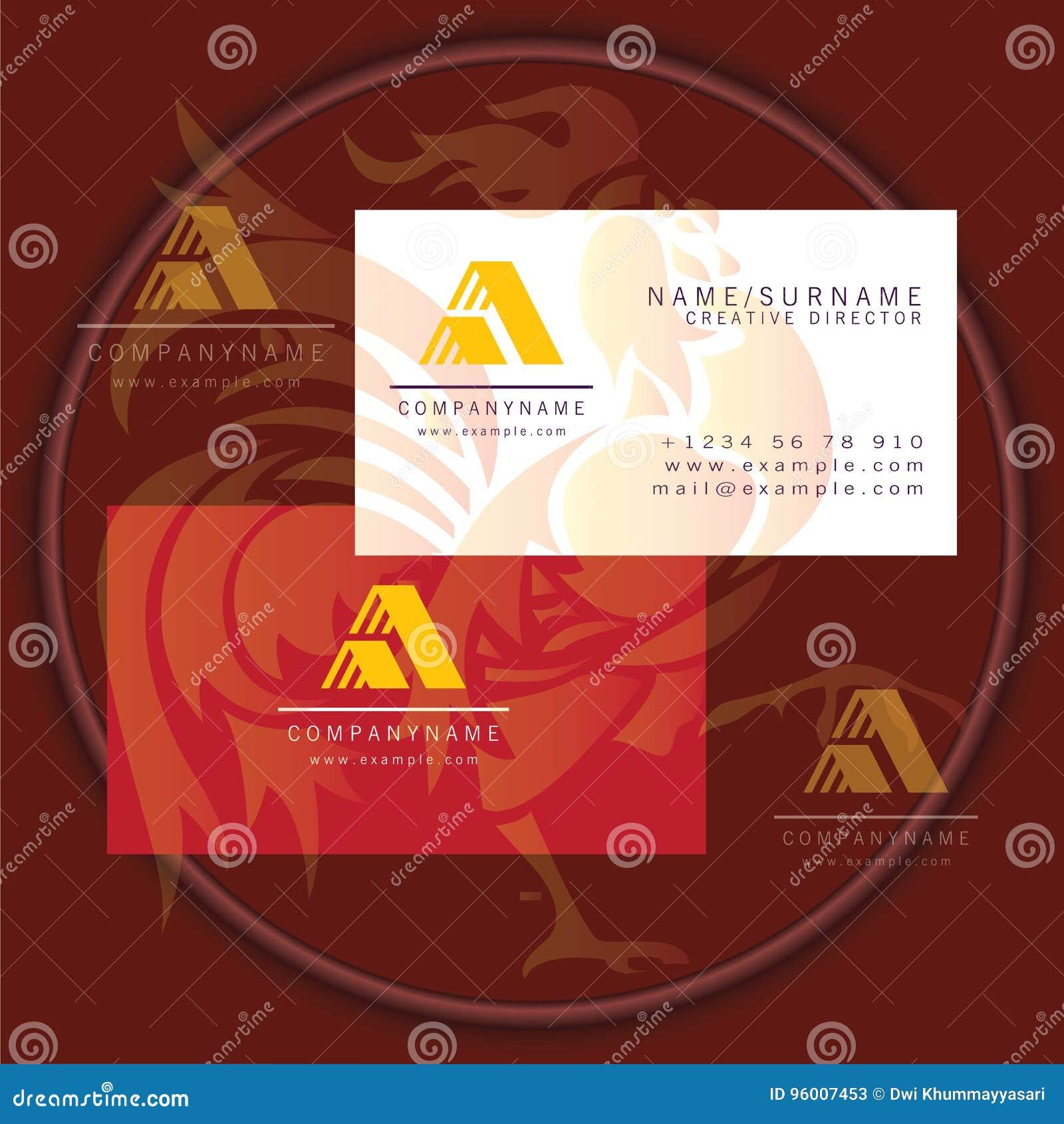 Icne Abstraite De Symbole Logo Carte Visite Professionnelle Triangle