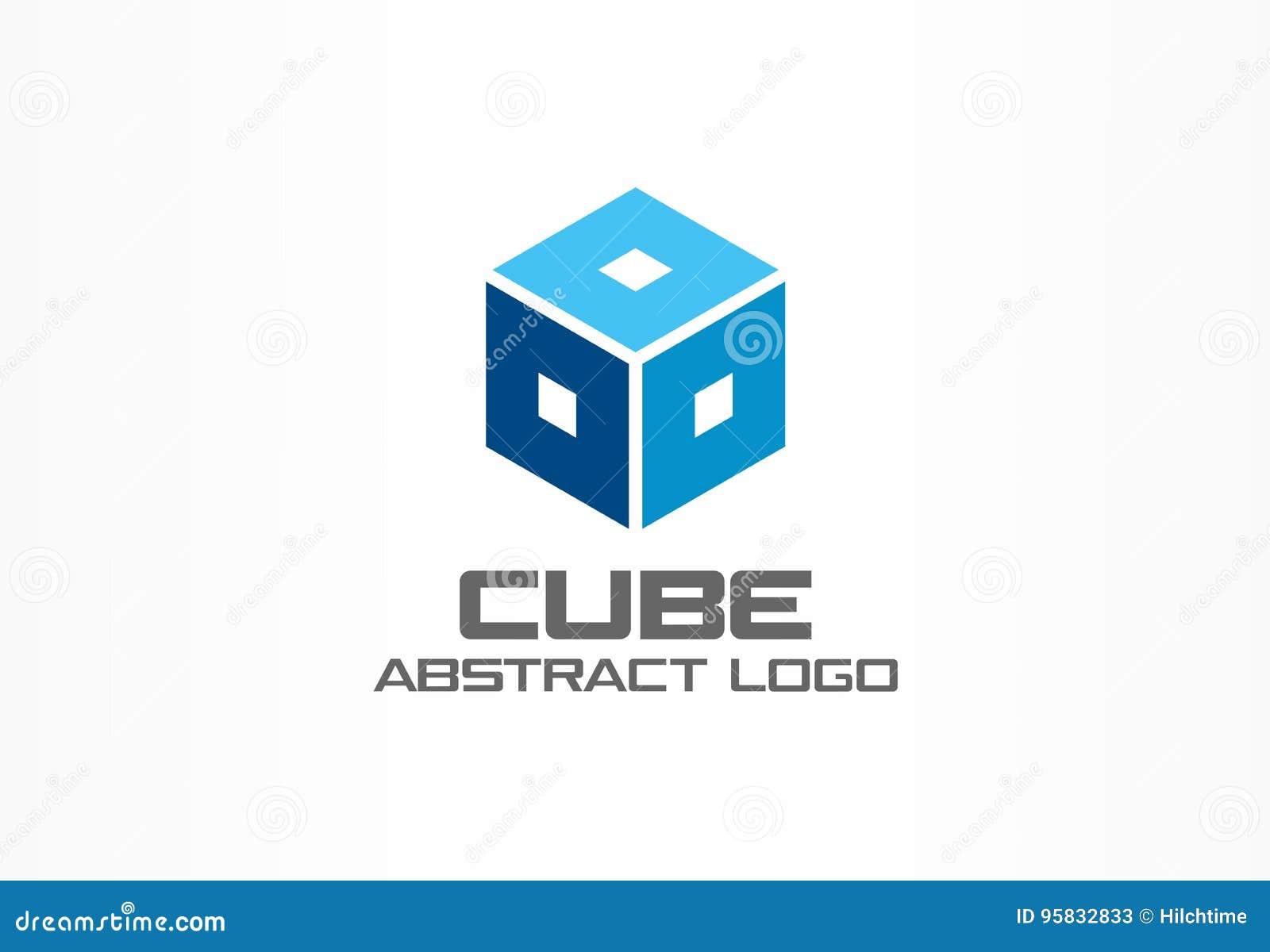 Souvent Logo Abstrait Pour La Société Commerciale Élément De Conception D  YW24