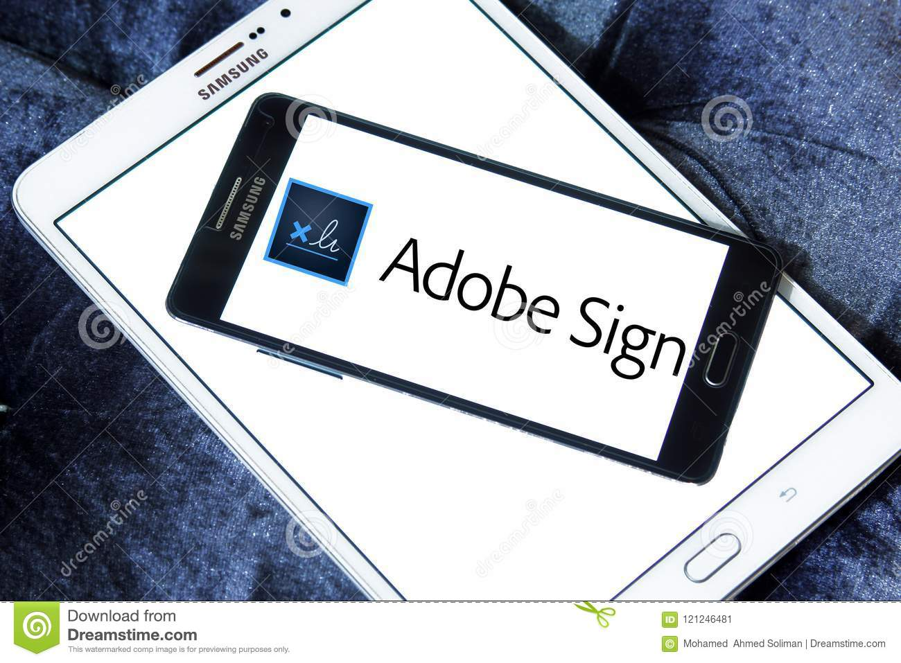 adobe sign logo editorial photo image of automated 121246481