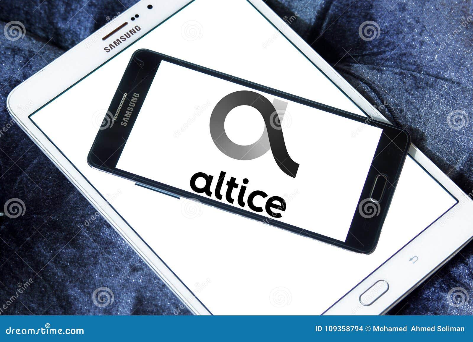 Altice Telecoms Company Logo Editorial Stock Image Illustration Of
