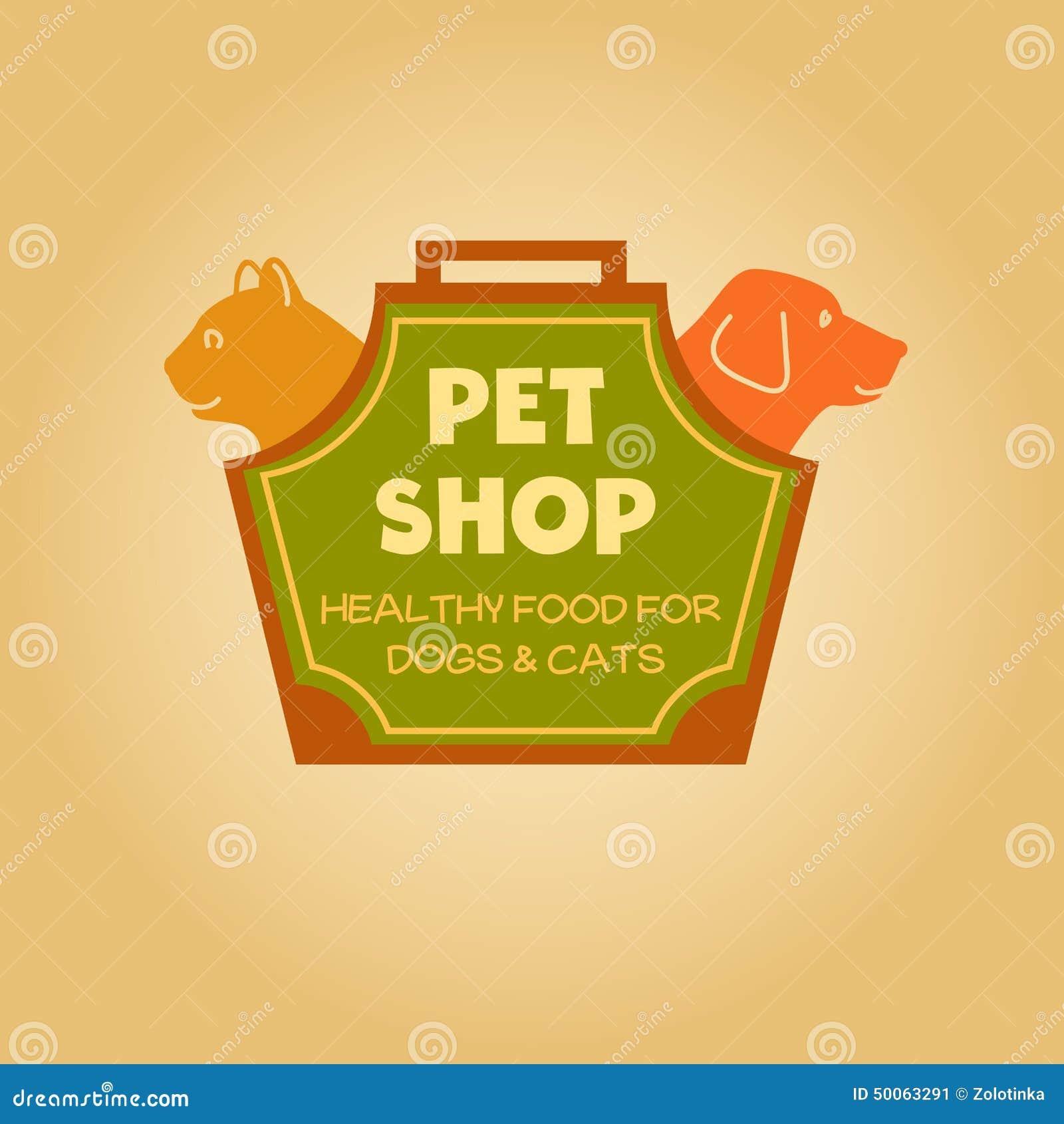 logo-animals-pet-food-shop-cat-dog-bag-carrying-50063291