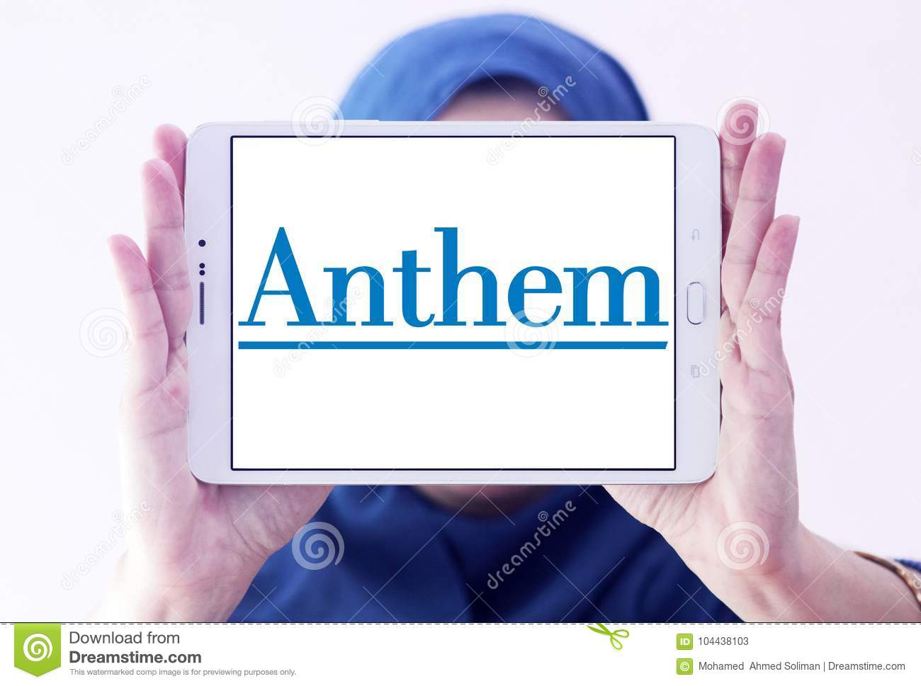 Anthem Health Insurance Company Logo Editorial Stock Photo ...