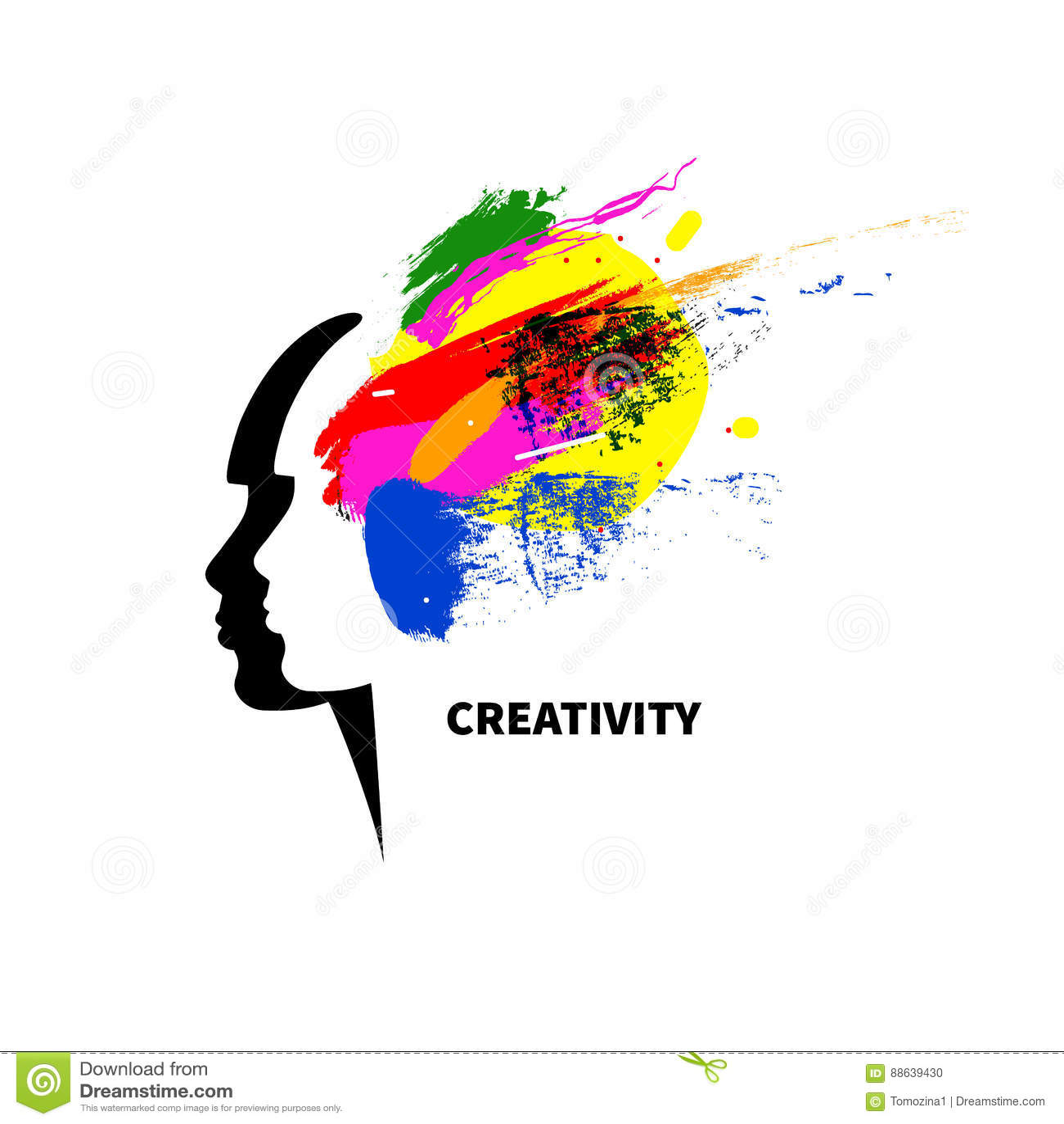 Logo Art Studio Stock Vector Illustration Of Creative 88639430