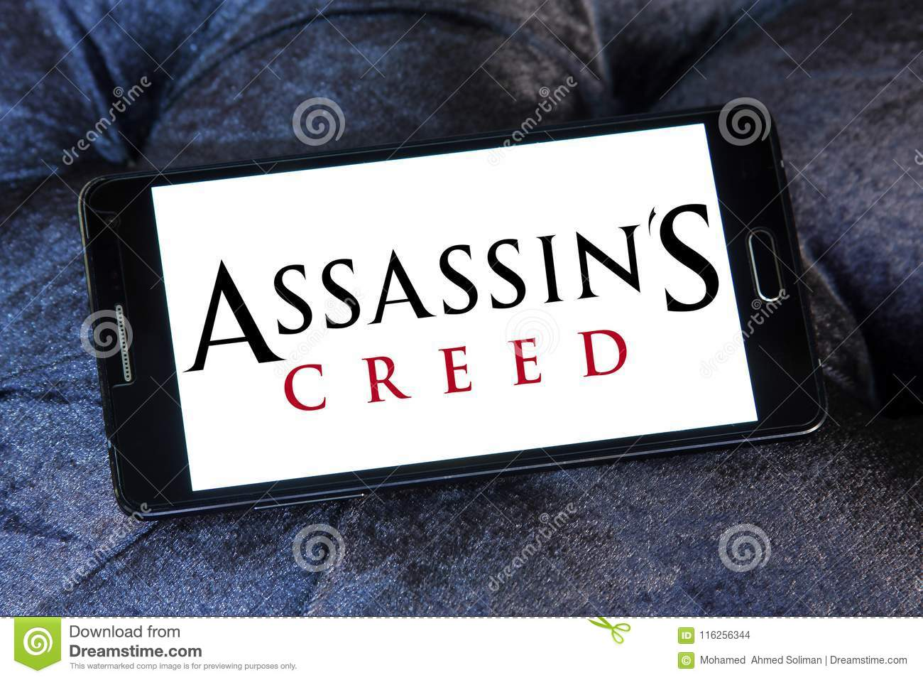 Assassins Creed Video Game Logo Editorial Stock Image Image Of
