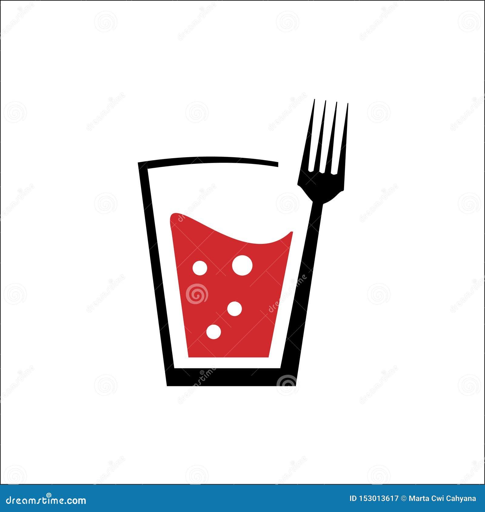 Logo av drinken och gaffeln