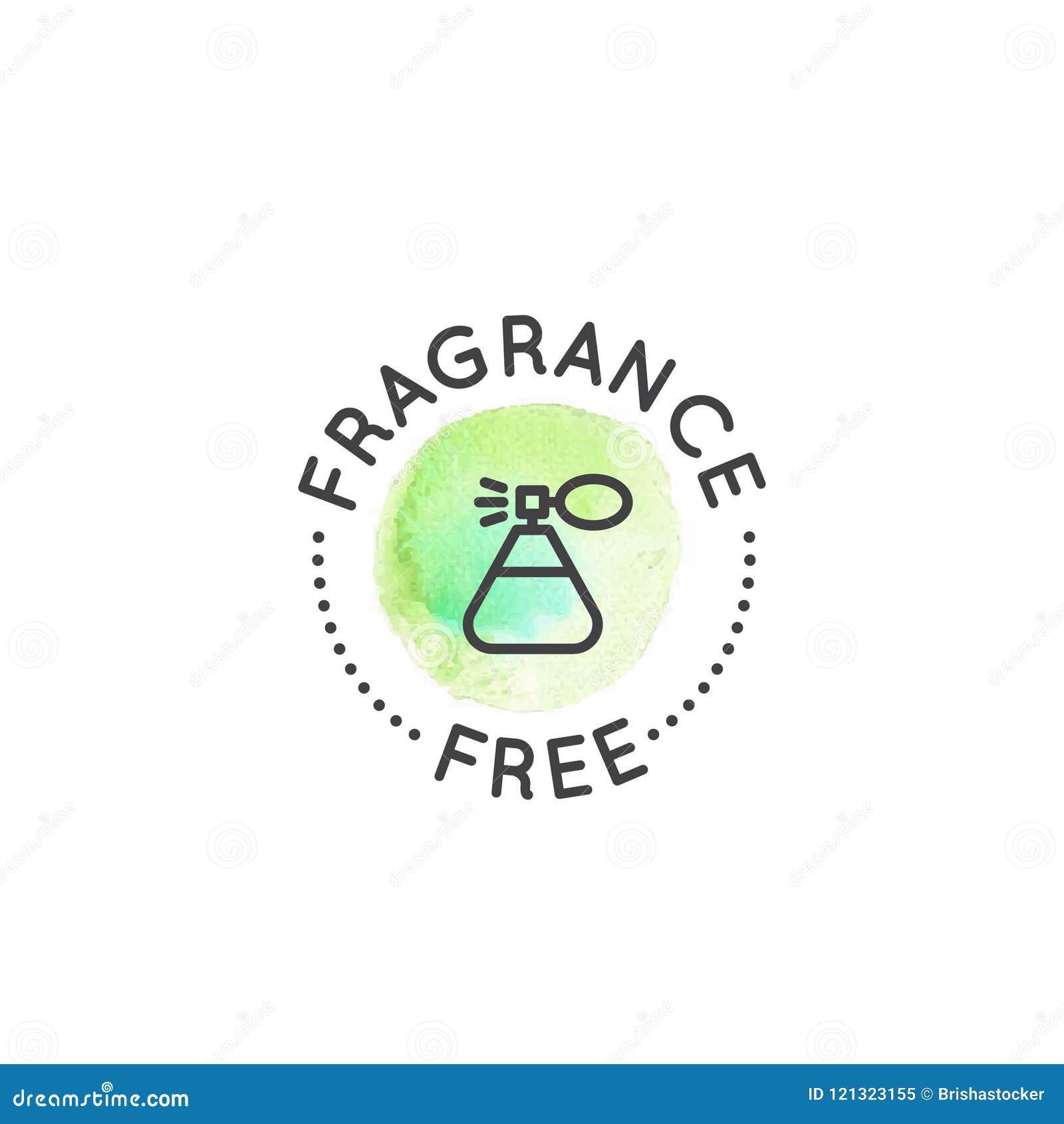 Logo Badge com o coelho e o coração, não testados em animais, etiqueta do produto do laboratório da crueldade livre