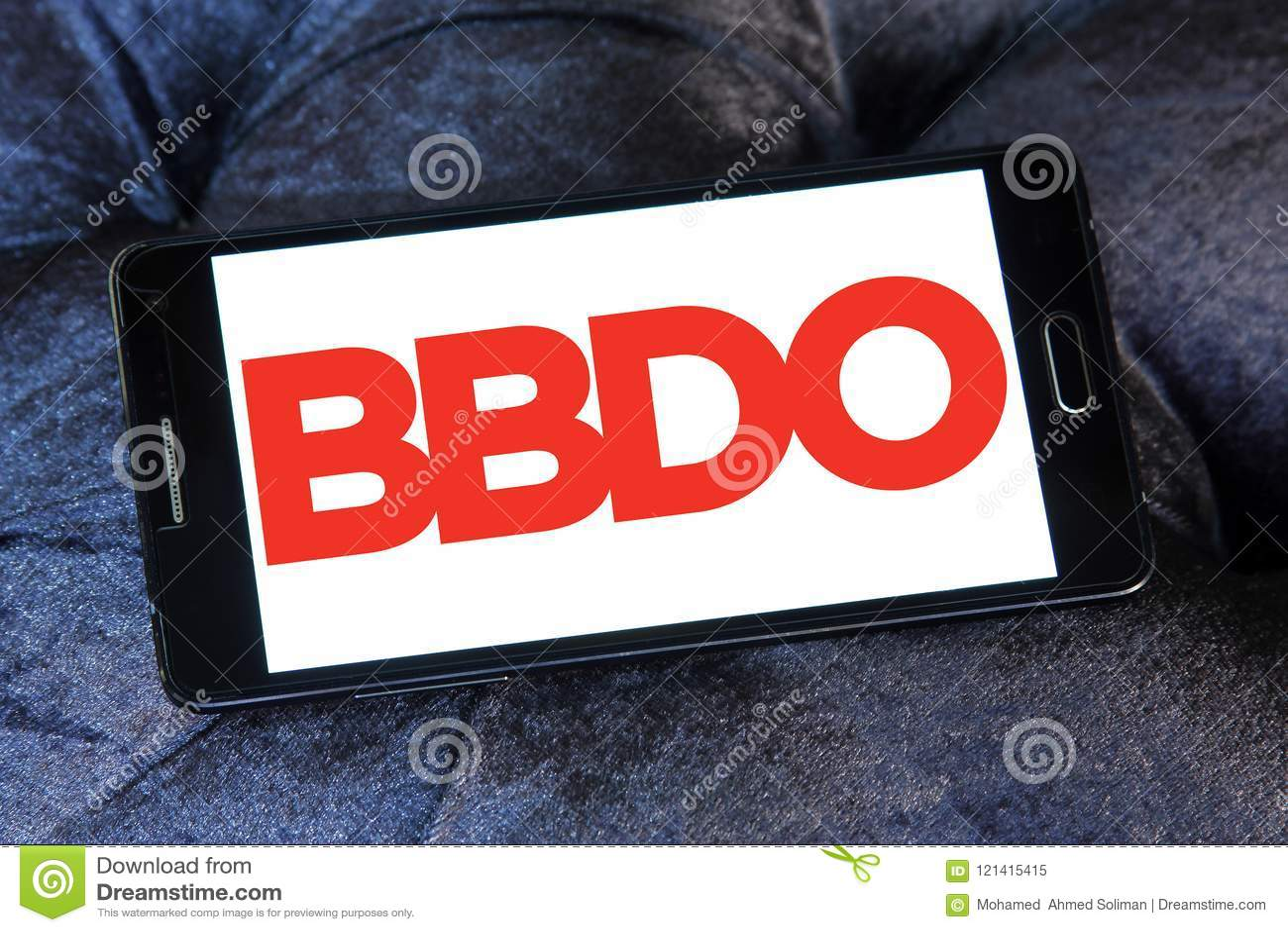 BBDO Advertising Agency Logo Editorial Image - Image of