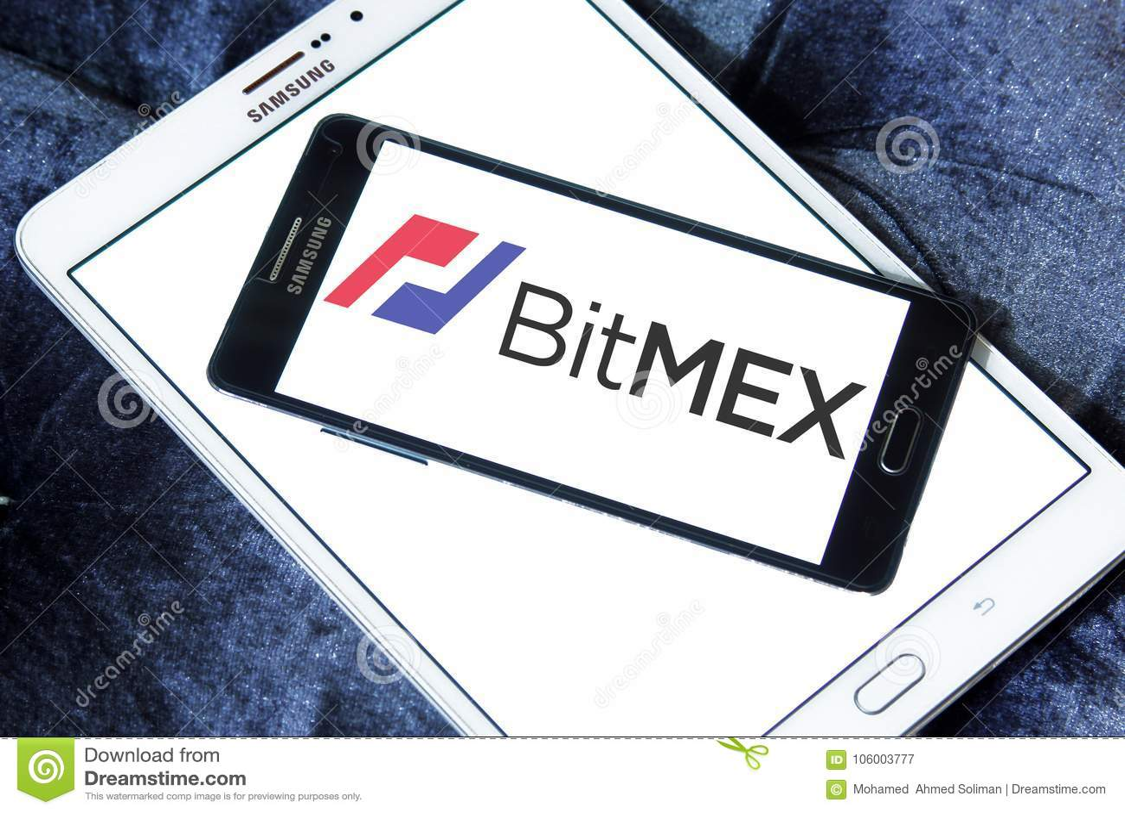 BitMEX Cryptocurrency Exchange Logo Editorial Photography - Image of