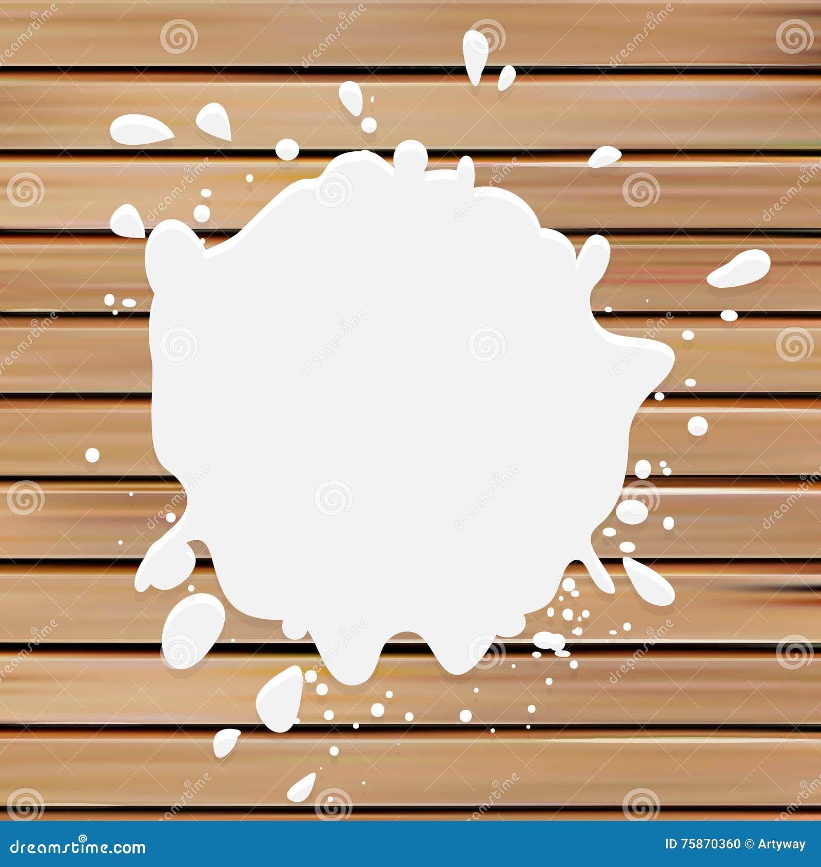 logo blanc de vecteur de tache de couleur logotype de lait peignez l 39 illustration de tache sur. Black Bedroom Furniture Sets. Home Design Ideas