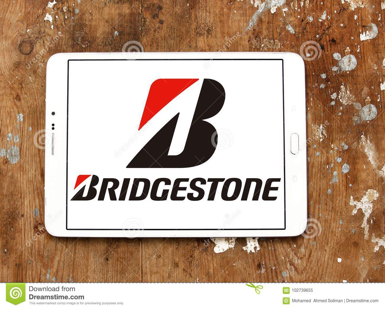 Bridgestone Tyre Manufacturer Logo Editorial Image - Image of