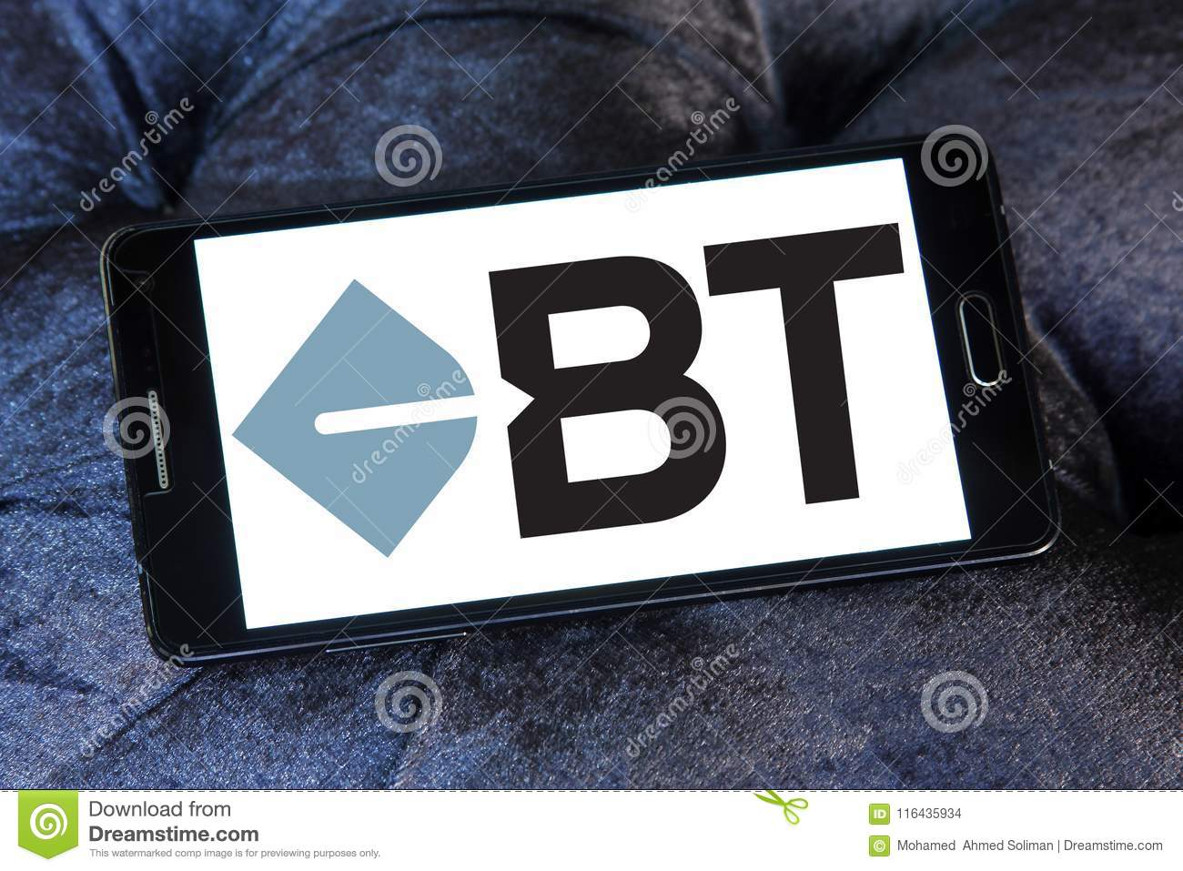 Bt Financial Group Logo Editorial Stock Image Image Of Assets