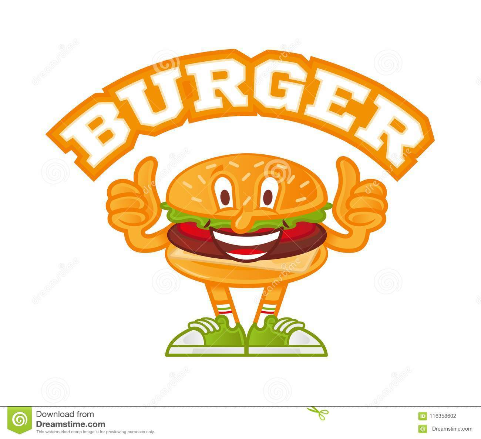 Logo Burger Ilustración Del Vector Ilustración De Fresco 116358602