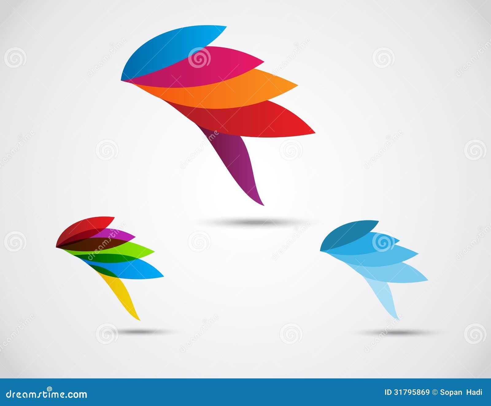 Logo Business . Bird Abstract Stock Vector - Illustration ...