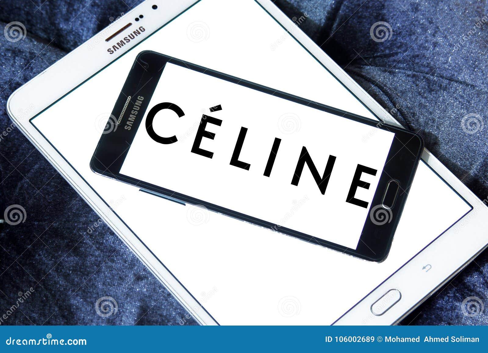 Céline brand logo editorial stock image  Image of symbol