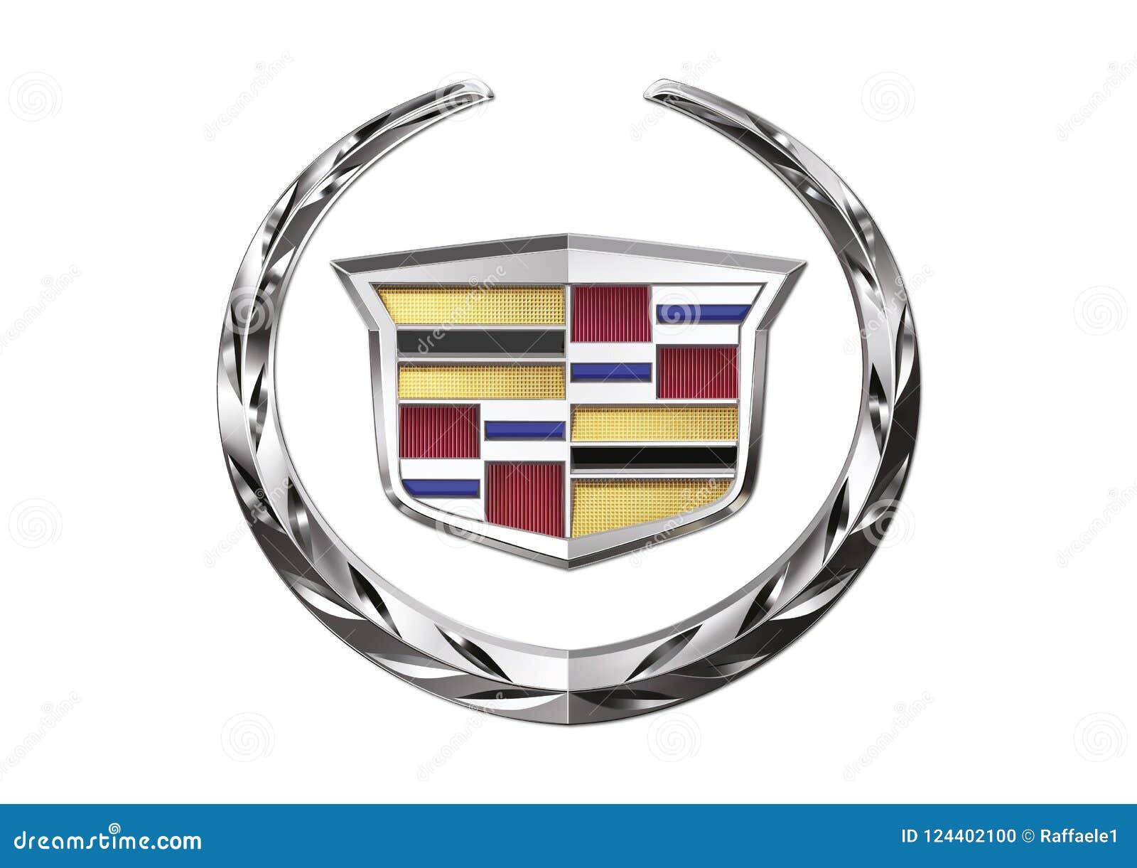 Logo Cadillac Editorial Image Illustration Of Aviable 124402100