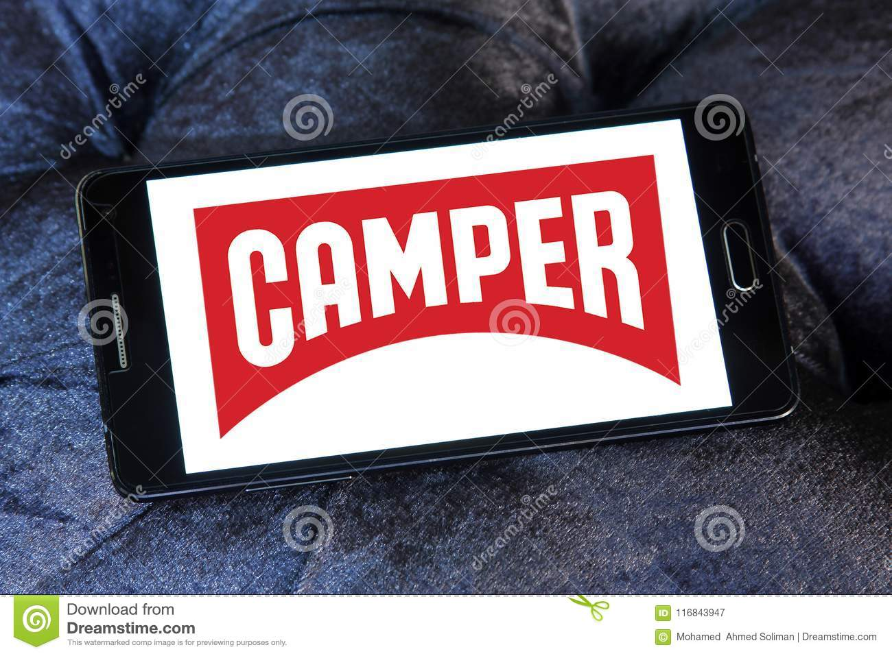 Camper fashion brand logo