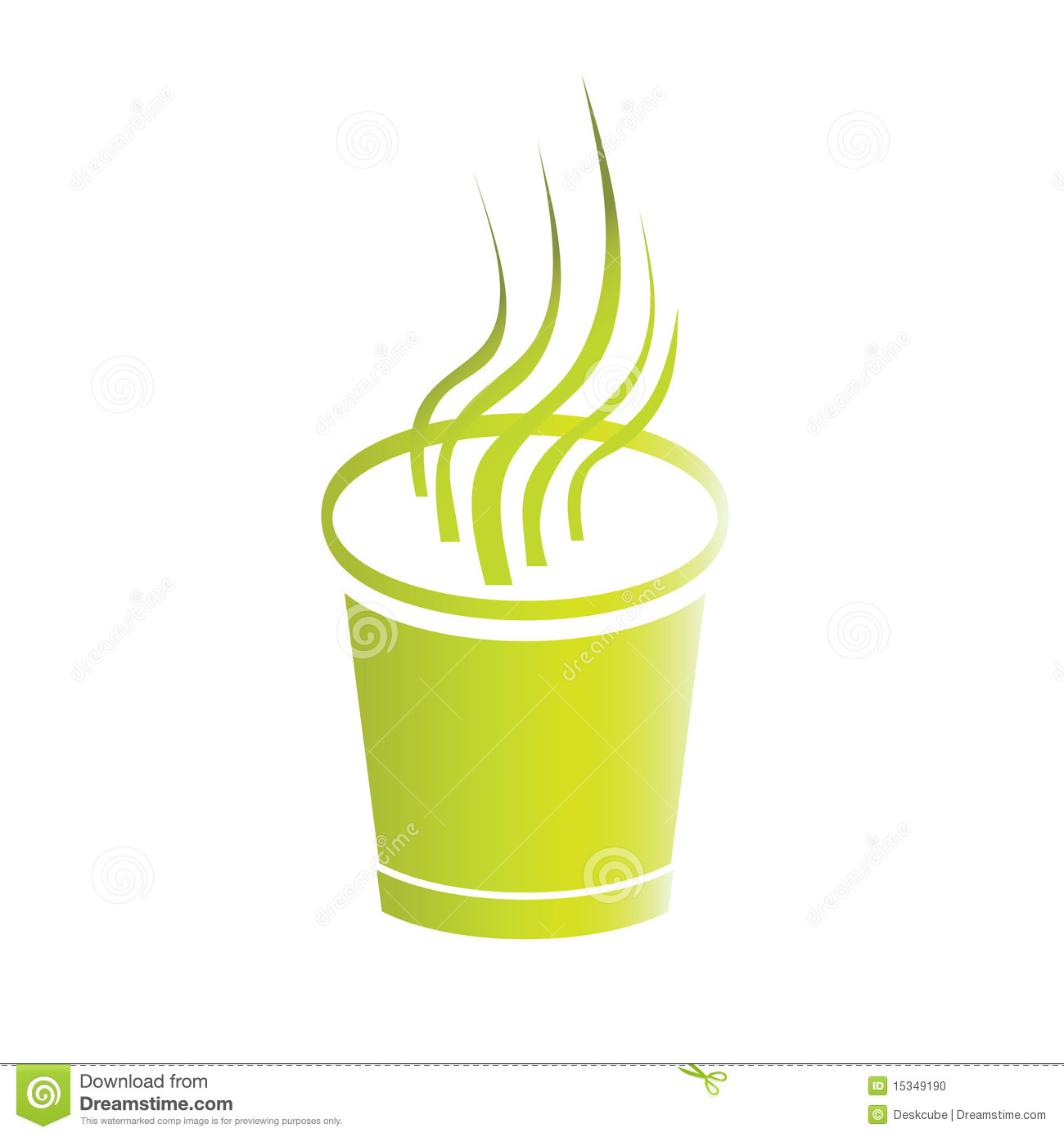 logo coffee paper cup stock vector illustration of cafe 15349190