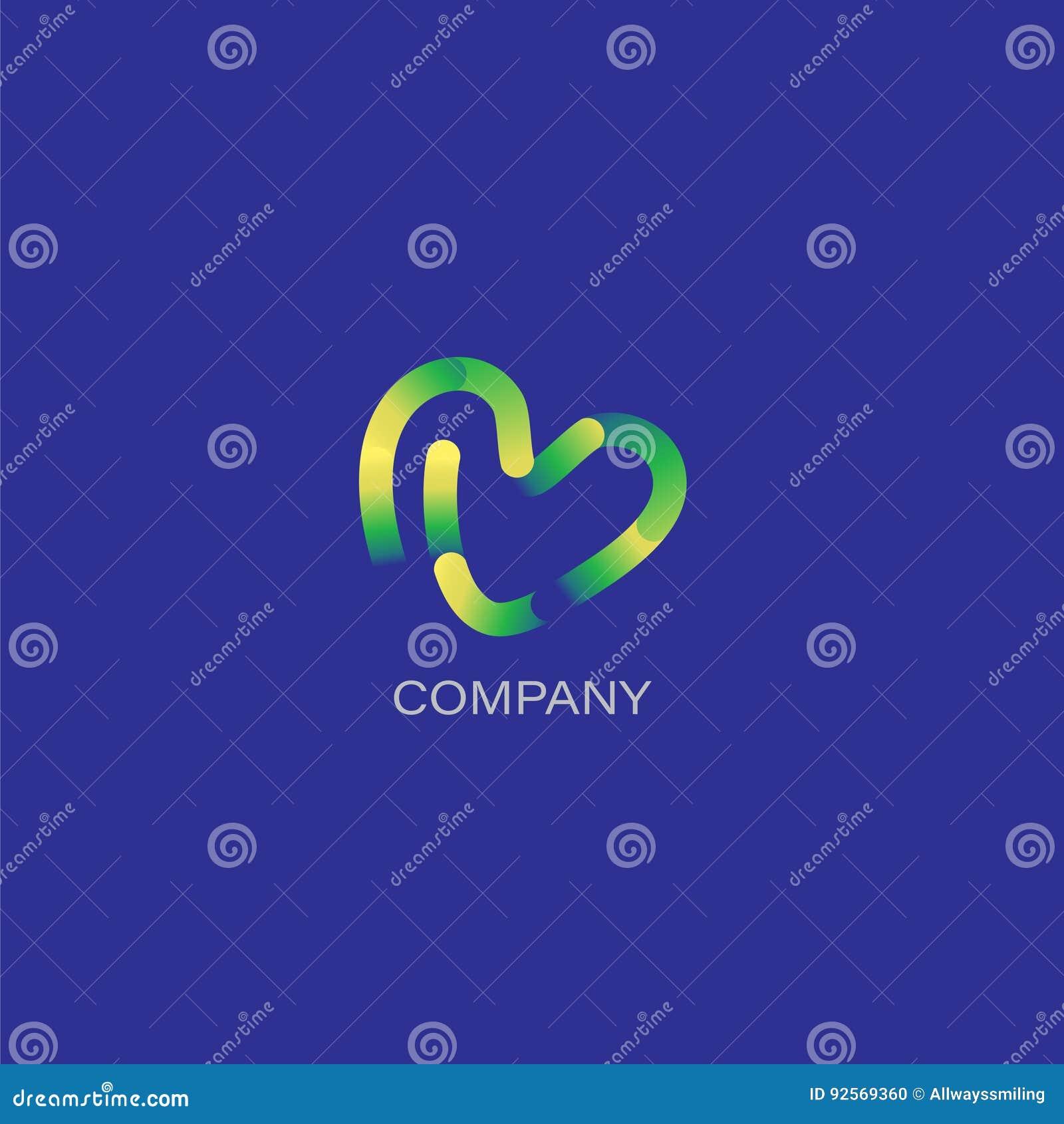 Logo creativo della società di progettazione o dell agenzia