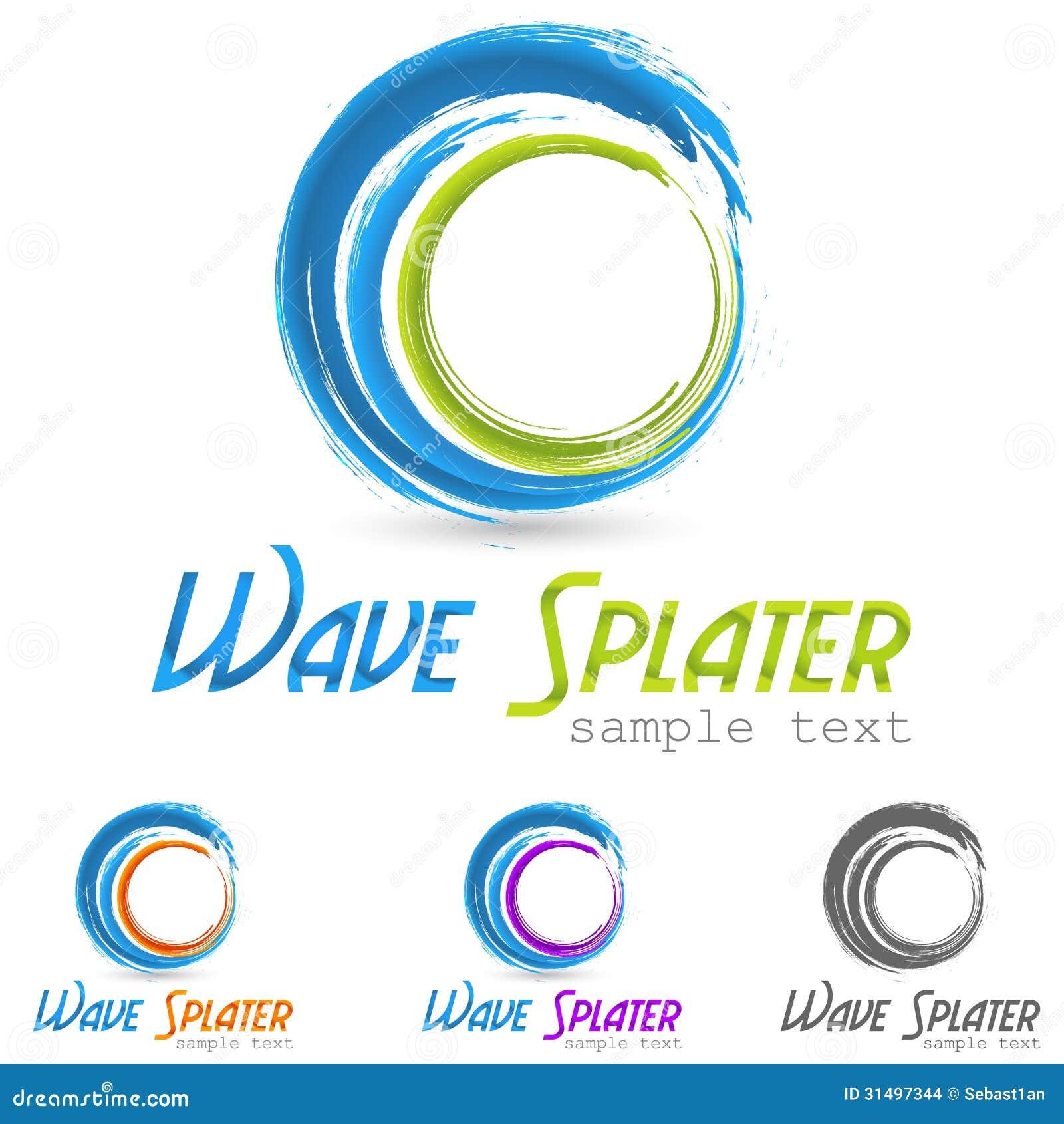 Logo d éclaboussure de l eau