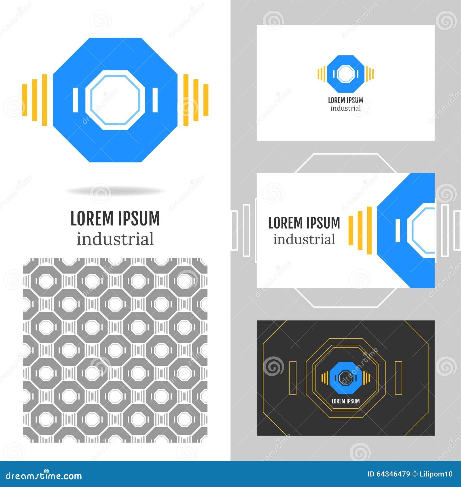Logo D Affaires Pour La Socit Lment De Polygone Vecteur L Dition Carte