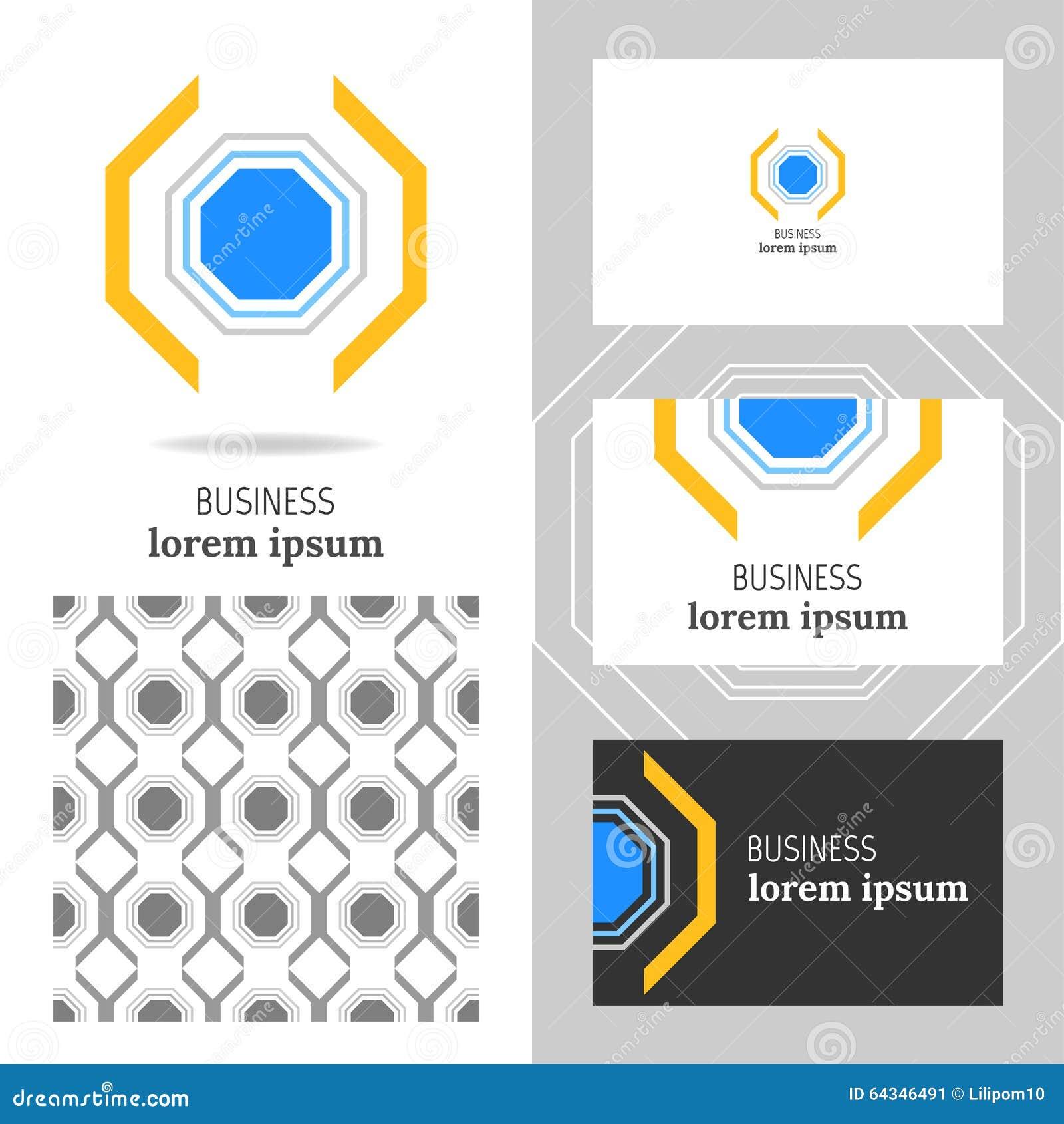 Logo Daffaires Pour La Societe Element De Polygone Vecteur L Edition