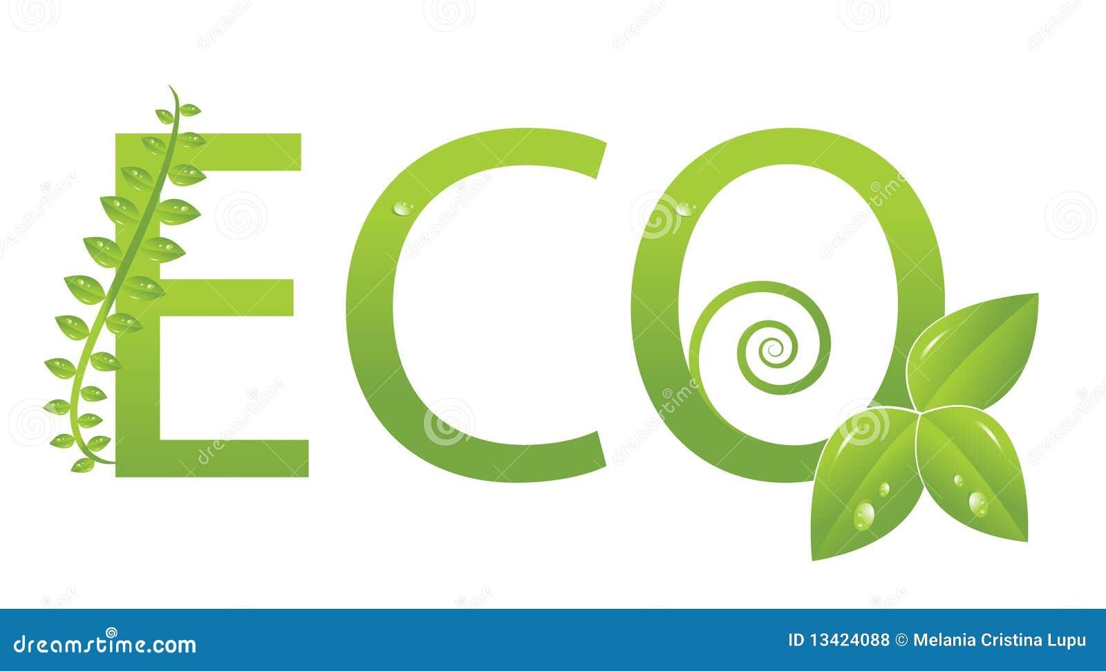 logo d 39 cologie prot gez l 39 environnement photos libres de droits image 13424088. Black Bedroom Furniture Sets. Home Design Ideas