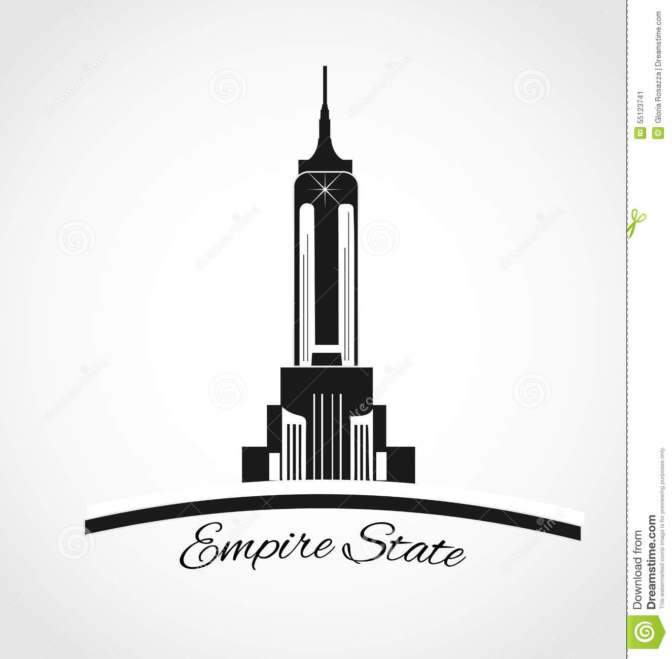 tall building clipart 3d