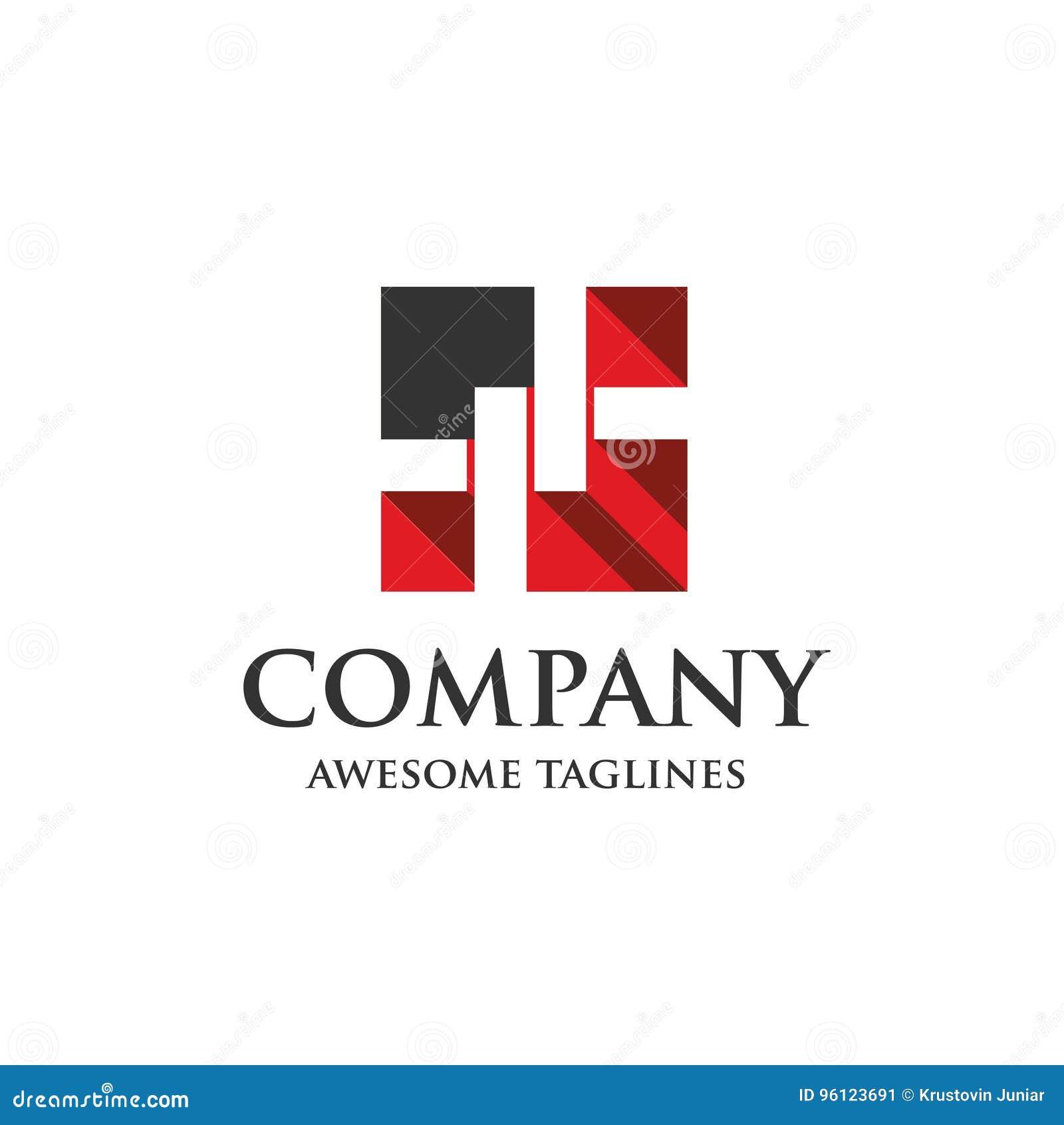 Logo de barrière de maillon de chaîne
