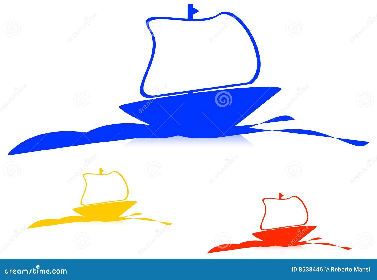 Logo de bateau