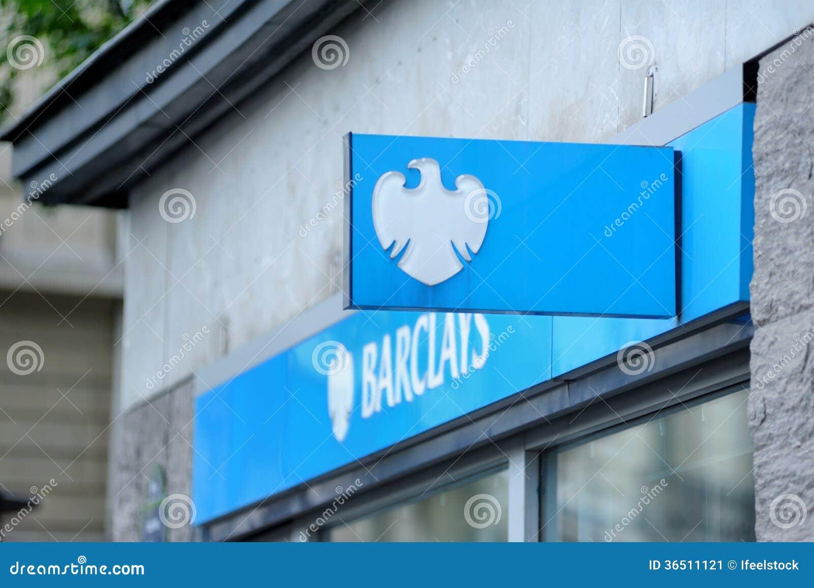 Logo de Braclays sur la branche principale de Paris sur Champs-Elysees