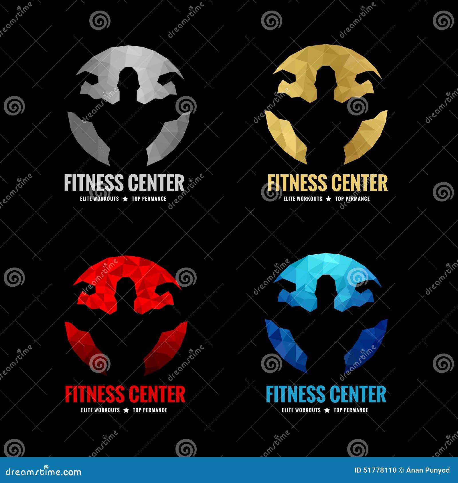 Logo de centre de fitness